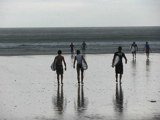 Surf Simply: walking out to the surf