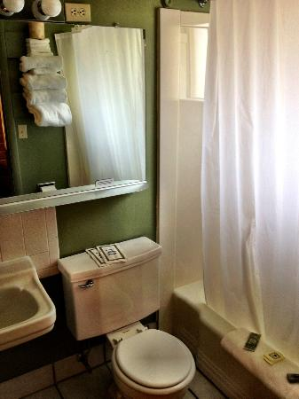One Horse Motel: Bathroom, super clean
