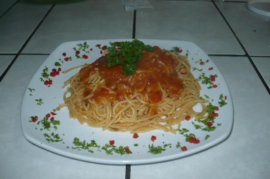 The Krusty Krab: pasta en salsa criolla