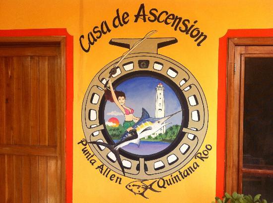 Front of Casa de Ascension