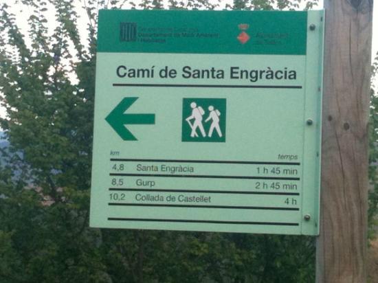 Casa Lola : Walking paths from Talarn