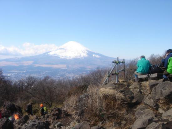 Minamiashigara, Japon : 金時山山頂