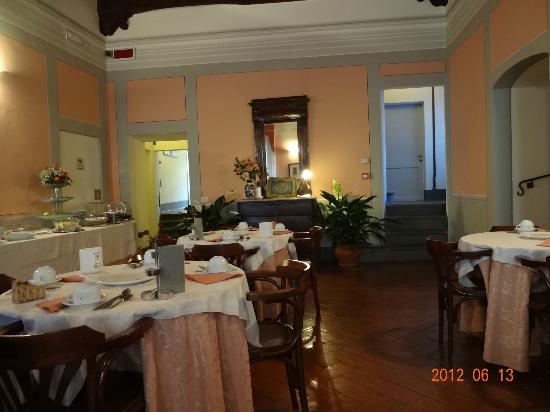 Hotel L'Antico Pozzo: 朝食ルーム