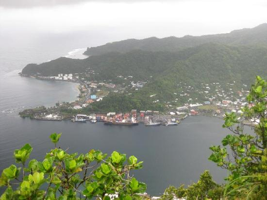 Mount Alava: Breath Taking Mouth of the Pago Pago Harbot