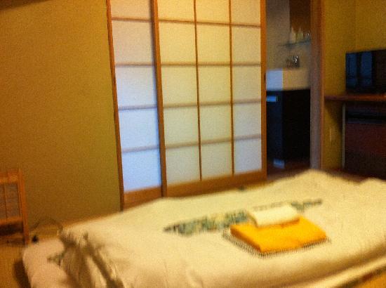 Japanese-style room at Hotel Fukudaya