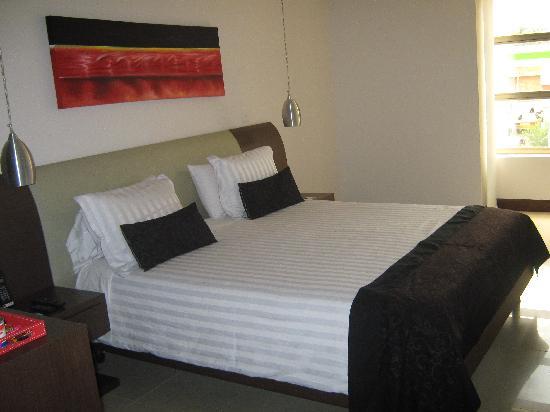 Hotel Merlott: Habitación vista 1