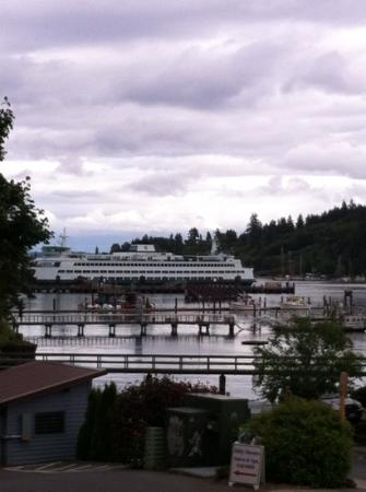 Bainbridge Island, Waszyngton: a room with a view...