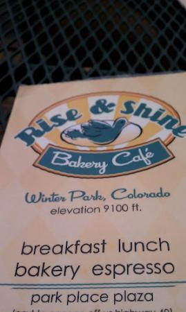 Rise and Shine Bakery: Rise and Shine !