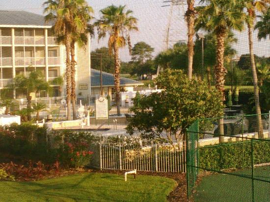 Orlando's Sunshine Resort: View of the Pool Area