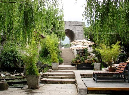 The Laughing Lotus Inn: on Hong Long Jin Street just below the old city wall