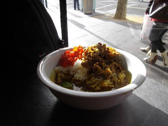 Don Don Japanese: curry beef rice