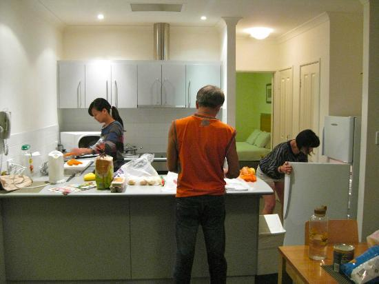 Forte Leeuwin Apartments: The kitchen