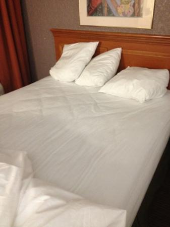 Quality Inn & Suites: our queen- but really double - bed