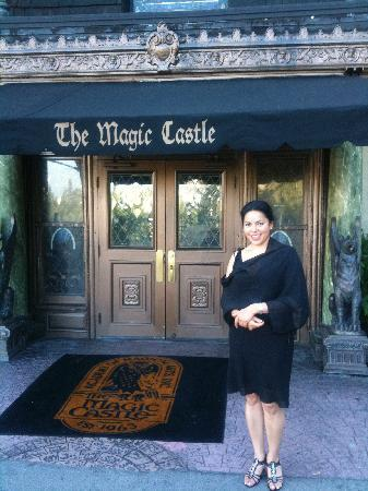 The Magic Castle: At the entrance