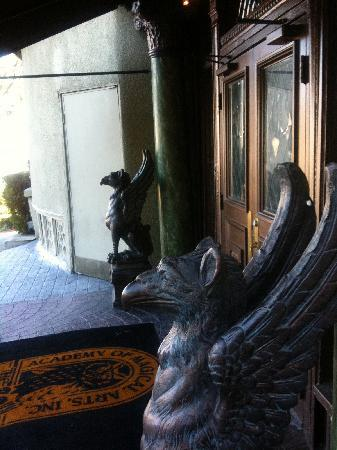 The Magic Castle: Before getting in