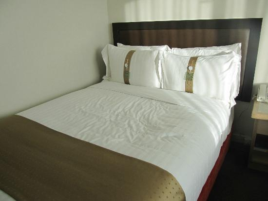 Holiday Inn Rotorua: Comfy bed, shame about the hairs in it
