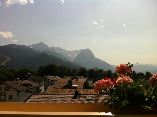 Hotel Impero: the view from the balcony