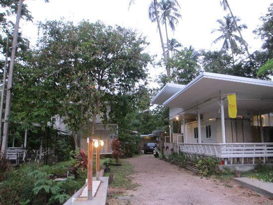 Glur Hostel: foreyard