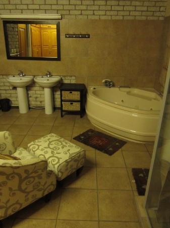 Lion's Guesthouse: Bathroom room 1