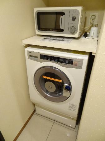 Tokyu Stay Tsukiji: 洗濯乾燥機