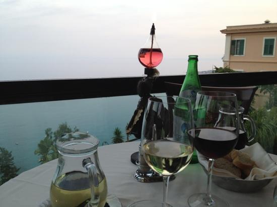 Ristorante Granduca: incredible view from out corner table!!!
