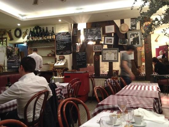 Le Gavroche: Very low key inside. This pic was taken around 1:30am. It was pretty crowded up until then.