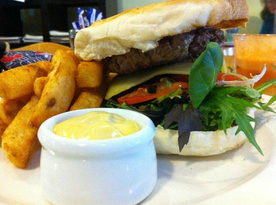 Wattle Cafe: Wagyu beef burger goodness