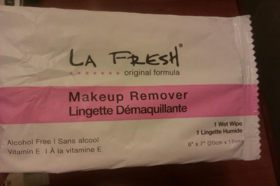 Hampton Inn & Suites Greenville - Downtown - Riverplace: Complimentary Makeup Remover