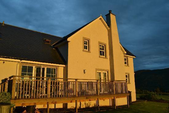 Easter Croftinloan Farmhouse: The farmhouse