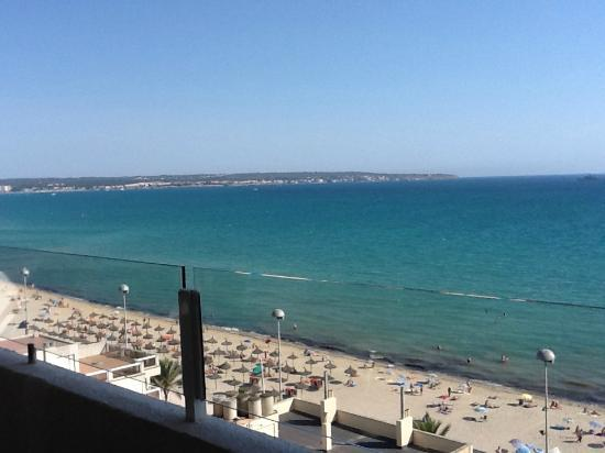 View from room on Sunprime Palma Beach Resort and Spa
