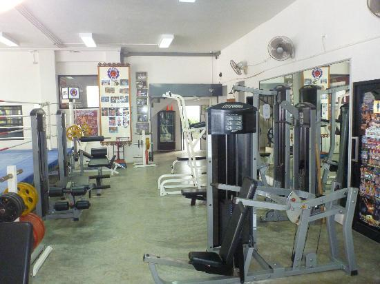 Superpro Samui: Weights area