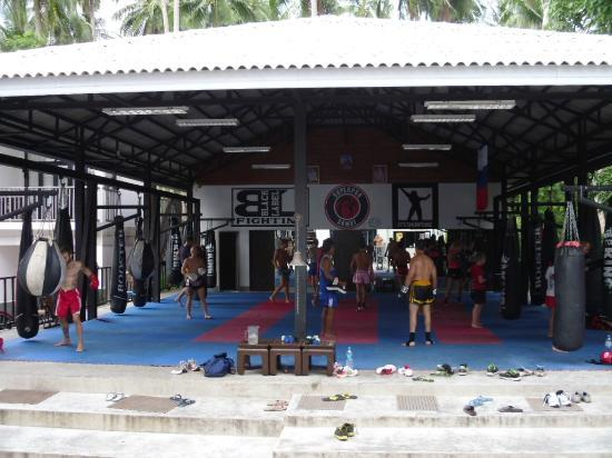 Superpro Samui: Group Class area
