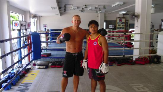 Superpro Samui: With my Trainer Beau