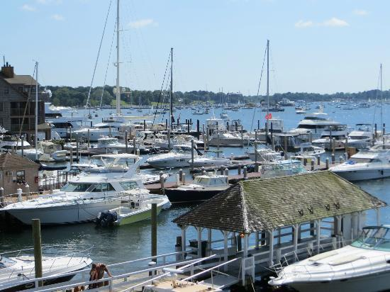 Harborside Inn: VIEW FROM THE BALCONY - AMAZING