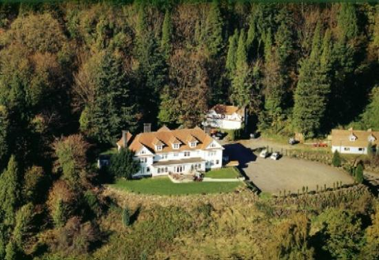 Longview, WA: Aerial pic of Mansion