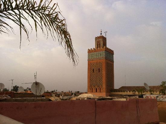 Riad Awa: vu de la terasse