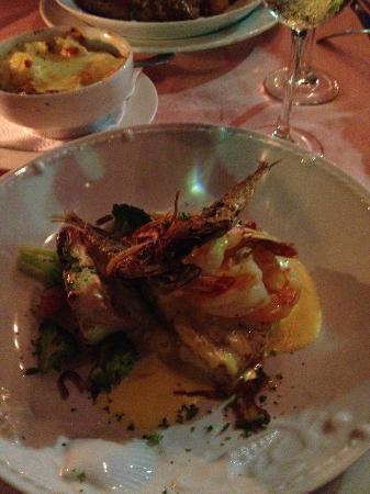 Mona Lisa: seafood trio