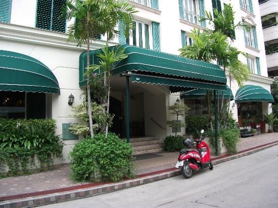 Saladaeng Colonnade: エントランス