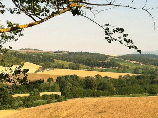 Pieve a Pava: the view