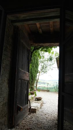 Pieve a Pava: View from bedroom