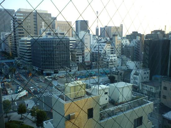 Shinbashi Atagoyama Tokyu REI Hotel: View from window of room