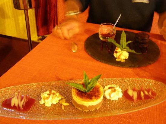 Les Cyclades: ottima cucina