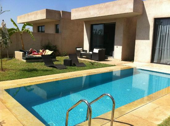 Sirayane Boutique Hotel & Spa : Private Pool and Garden (wish I was there now!)