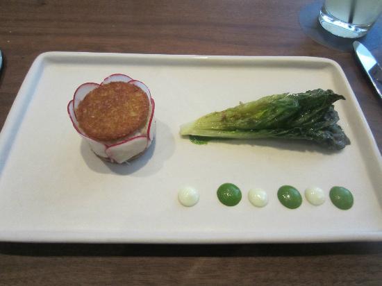Michael Mina: Local Dungeness crab salad