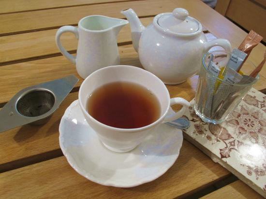 The Town Mill: Real leaf tea at the café