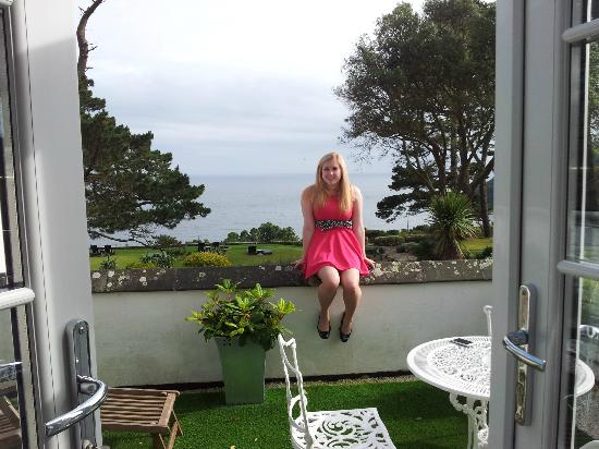 Talland Bay Hotel: Room 9 Balcony