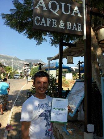 Aqua Cafe Bar : Yusuf at Aqua Bar
