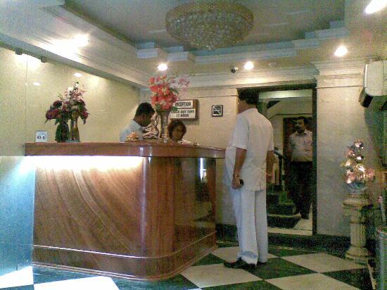 Hotel Panasia International : front office