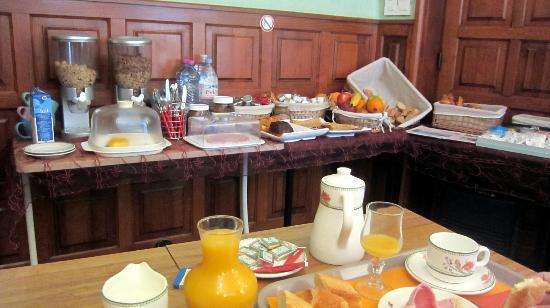 Le Petit Billot - Citotel : Frühstücksraum