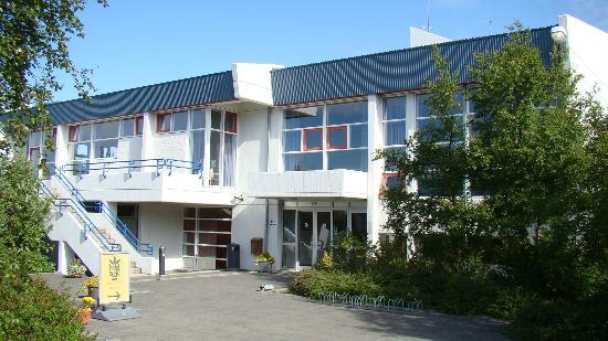 Hotel Edda - Egilsstadir : entrée de l'hôtel